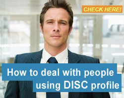 How to deal with people using DISC profile